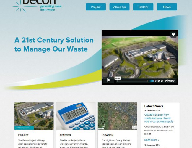 Becon website