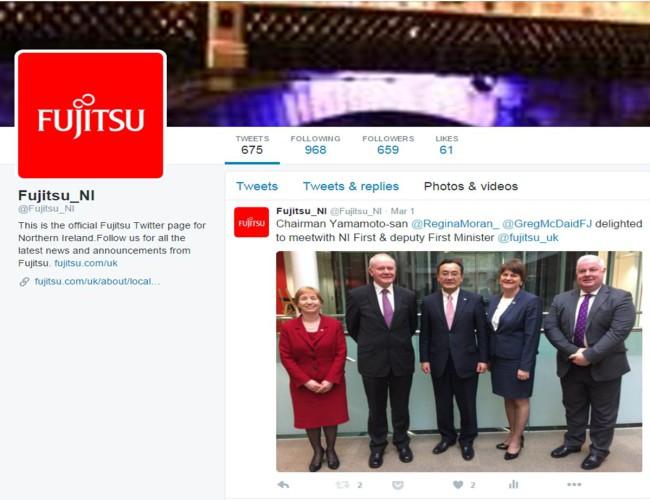 Fujitsu Twitter