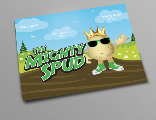 Mighty Spud Exhibition Stand