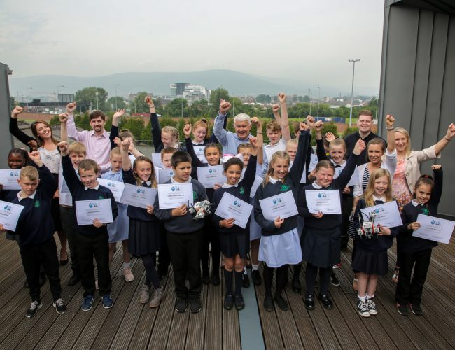 Pupils from Blythefield Primary School graduate from Neueda Code Club