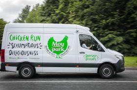 Moy Park Chicken Run Van